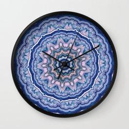 Agate Mandala Wall Clock