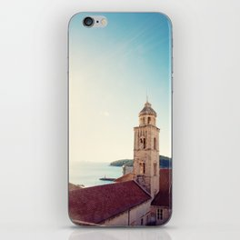 View of the Sea in Dubrovnik Croatia iPhone Skin