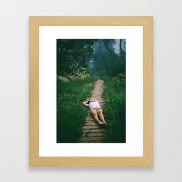 Laurel Framed Art Print
