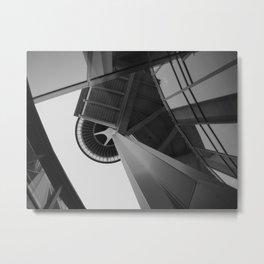 Looking Up Metal Print
