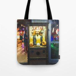 Mighty Zoltar Speaks Tote Bag