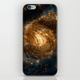 Starry Galaxy Night iPhone Skin