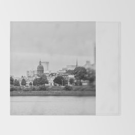 Cityscape Throw Blanket