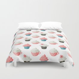 Cupcake Sweets Party Duvet Cover