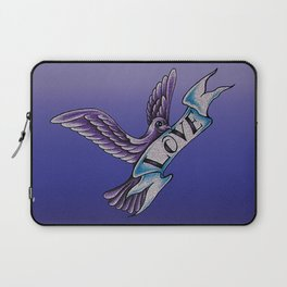 The Dove Of Love Laptop Sleeve
