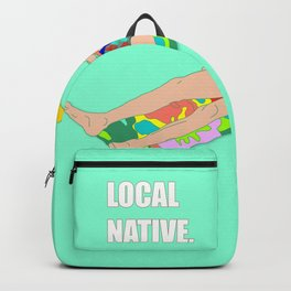 Nerdy Alpaca Block. by anji.  69.99 69.99. Local Native - Music Inspired  Fan Cliche Digital Art Backpack d9c73d7027