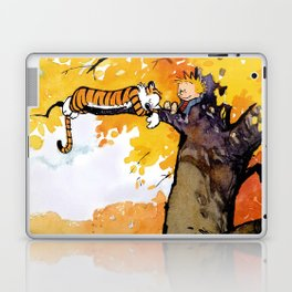 calvin n hobbes sleep Laptop & iPad Skin