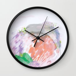 Interactions With Others Wall Clock