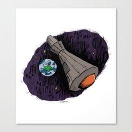 Space Shuttle  Canvas Print