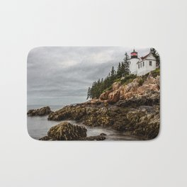 Bass Harbor Lighthouse - Acadia National Park Bath Mat