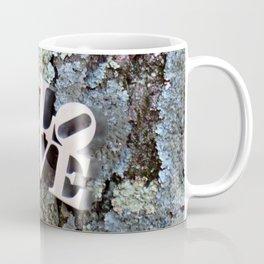 LOVE: TREE BARK Coffee Mug