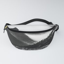 Mountain Valley Glacier National Park Fanny Pack