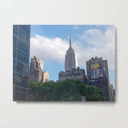 Empire State Building from Bryant Park Metal Print