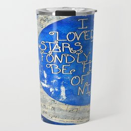 Amant d'étoile - Star Lover  Travel Mug