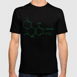 Cannabis Chemistry: CBD T-shirt