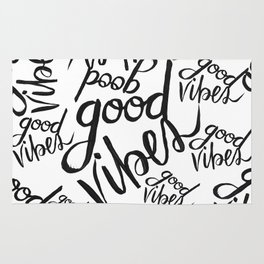 Good Vibes Pattern Rug