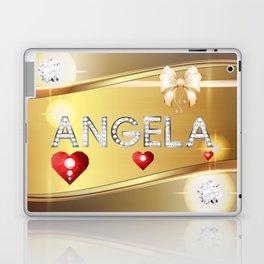 Angela 01 Laptop & iPad Skin