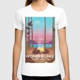 Wonder Lake, Denali national park Alaska T-shirt