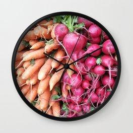 vegan treasure Wall Clock