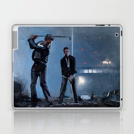 Tyler Durden and the Narrator - Golfing Buddies - Fight Laptop & iPad Skin