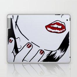 Who's that Girl - White Laptop & iPad Skin