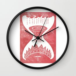 Healing (White) Wall Clock