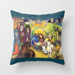 Peace on Earth 2017 Throw Pillow