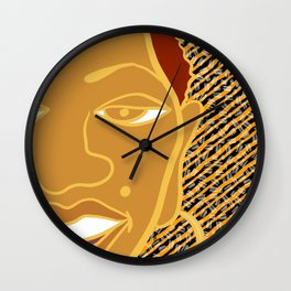 Africa Calls To Me Too Wall Clock