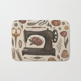 Sewing Collection Bath Mat