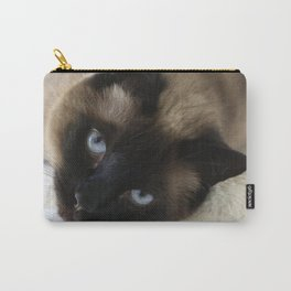Siamese Soulful Expression Carry-All Pouch