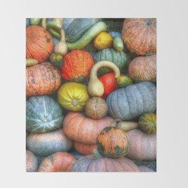 Fall crop Throw Blanket