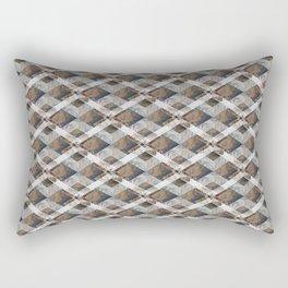 Geometric Collage Rectangular Pillow