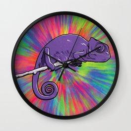 High Lizard Wall Clock