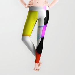 White Neon Leggings