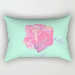 Retro Colourful Camera Rectangular Pillow