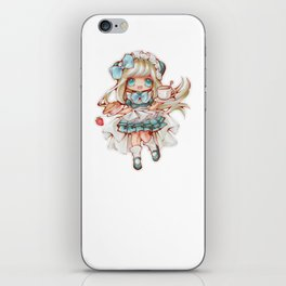 Kawaii Waitress iPhone Skin