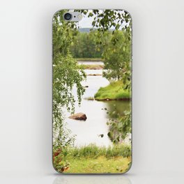 Riverside Kemijoki Finland iPhone Skin