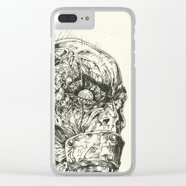 Growing Insanity Clear iPhone Case