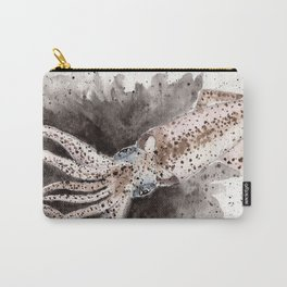 Squid ink and tentacles Carry-All Pouch