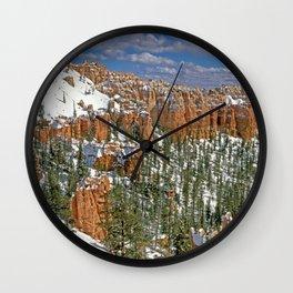 Brye canyon Wall Clock