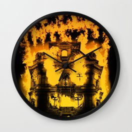 Fight with fire Wall Clock