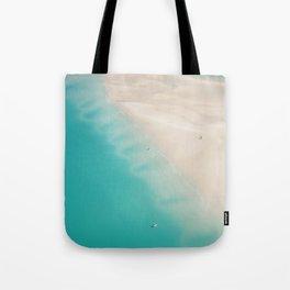 Teal Sands Tote Bag