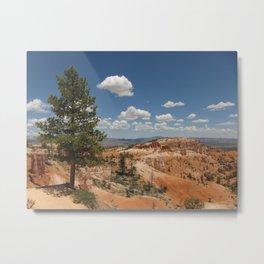 Bryce Canyon Tree Metal Print