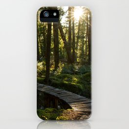 North Shore Trails in the Woods iPhone Case
