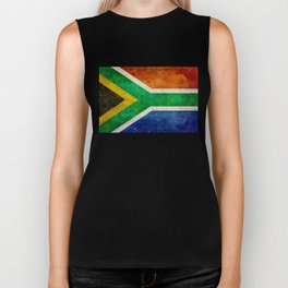 Flag of the Republic of South Africa Biker Tank