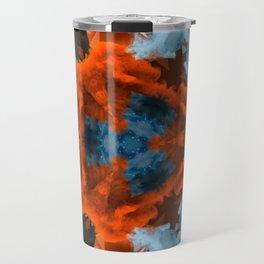 abstract atmosphere kaleidoscope 9 Travel Mug