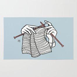 stitch after stitch Rug