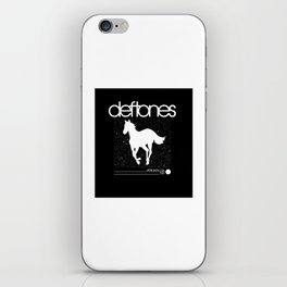 Deftone White Pony iPhone Skin