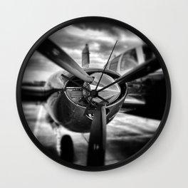 Hélice gros plan Wall Clock