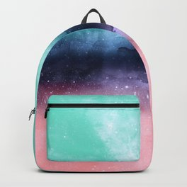 Modern watercolor abstract paint Backpack